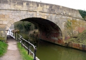 Widbrook canal bridge