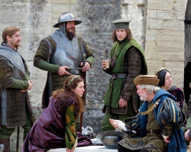 Tudor costume, Barton Farm