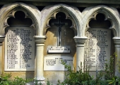 Bradford, World War 1 memorial, Holy Trinity Church
