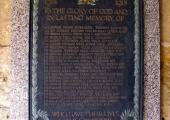 Broughton Gifford Church, World War 1 memorial