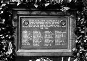 Spencer Moulton company's World War 1 memorial, Bradford