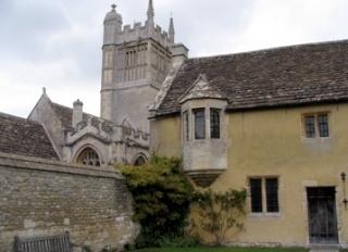 The Manor House and the Church