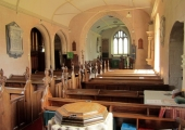 Wingfield Church interior