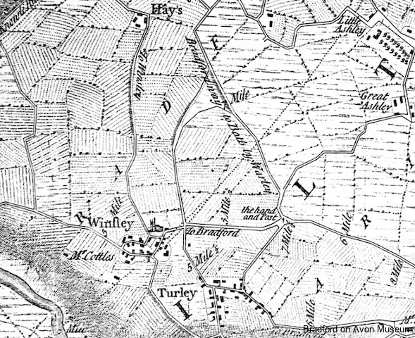 Winsley Thorpe map