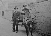 Winsley donkey carriage in Bradford on Avon