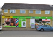 shops, Tyning Road, Winsley