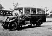 Winsley garage bus