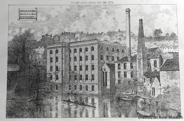 Abbey Mill, Bradford on Avon 1875