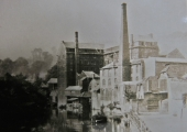 Abbey Mill, Bradford on Avon before rebuilding c1870