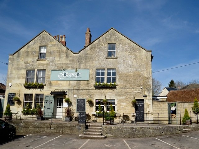 The George pub, Woolley, Bradford on Avon