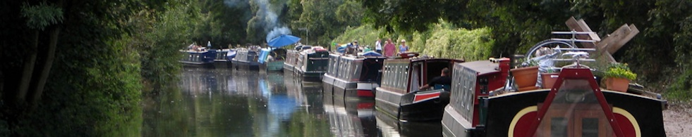 narrowboats, Kennet and Avon Canal