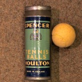 Spencer Moulton tennis balls
