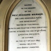 Bradford People: Rev Richard Warner