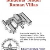 St Laurence School model Roman villas