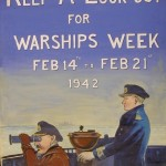 Warships Week poster