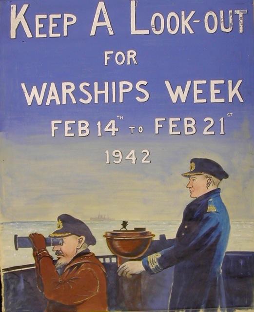 Warships Week poster