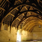 Tithe barn interior