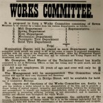 Spencer Moulton works committee poster