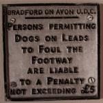 Dog fouling notice