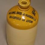 Wilkins stoneware jar