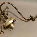 Gas lamp bracket
