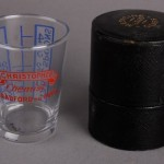 R.T. Christopher measuring glass
