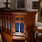 Providence Chapel pulpit