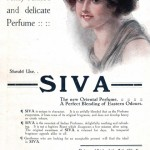 "Advertisement for Christopher's ""Siva"" perfume"