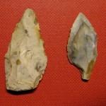 flint arrowheads, Iford