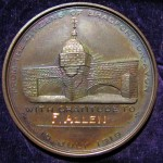 Frederick Allen Great War medallion