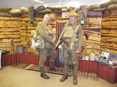 WW1- Trench Activity Day at the Museum