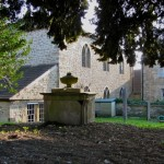 The Old Baptist Chapel, seen from the burial ground behind