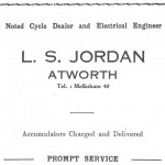 L.S. Jordan advert 1950