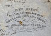 John Brown billhead 1861