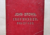 John Brown, ironmonger, Bradford on Avon account book
