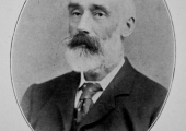 Albert James Beaven of Holt in about 1900