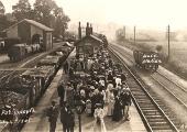Beavens' excursion to Portsmouth 1905