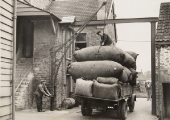Woolsack delivery to Beavens'