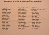 The Bradford on Avon Millennium Embroiderers