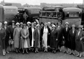 Women's Institute trip at Weymouth by Keates' coach