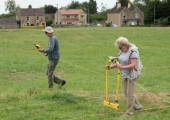 geophysics on Broughton Gifford Common