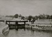Kennet & Avon Canal lock, Bradford on Avon c1910