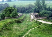 Avoncliff Aqueduct  Kennet & Avon Canalin 1971, before restoration