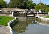 Bradford on Avon Lock, Kennet & Avon Canal