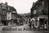 Bradford on Avon's Market Street in the early 1950s