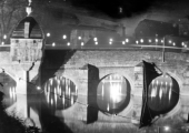 Town Bridge illuminated 1935