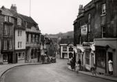 Bradford on Avon's Market Street in the early 1950s