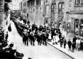 Edward VII funeral, Church Street 1910