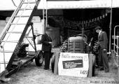 Berkley James Uncles and tractor