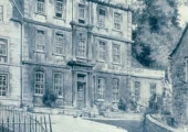 Druce\'s Hill House, from a drawing by Edward Walker 1943